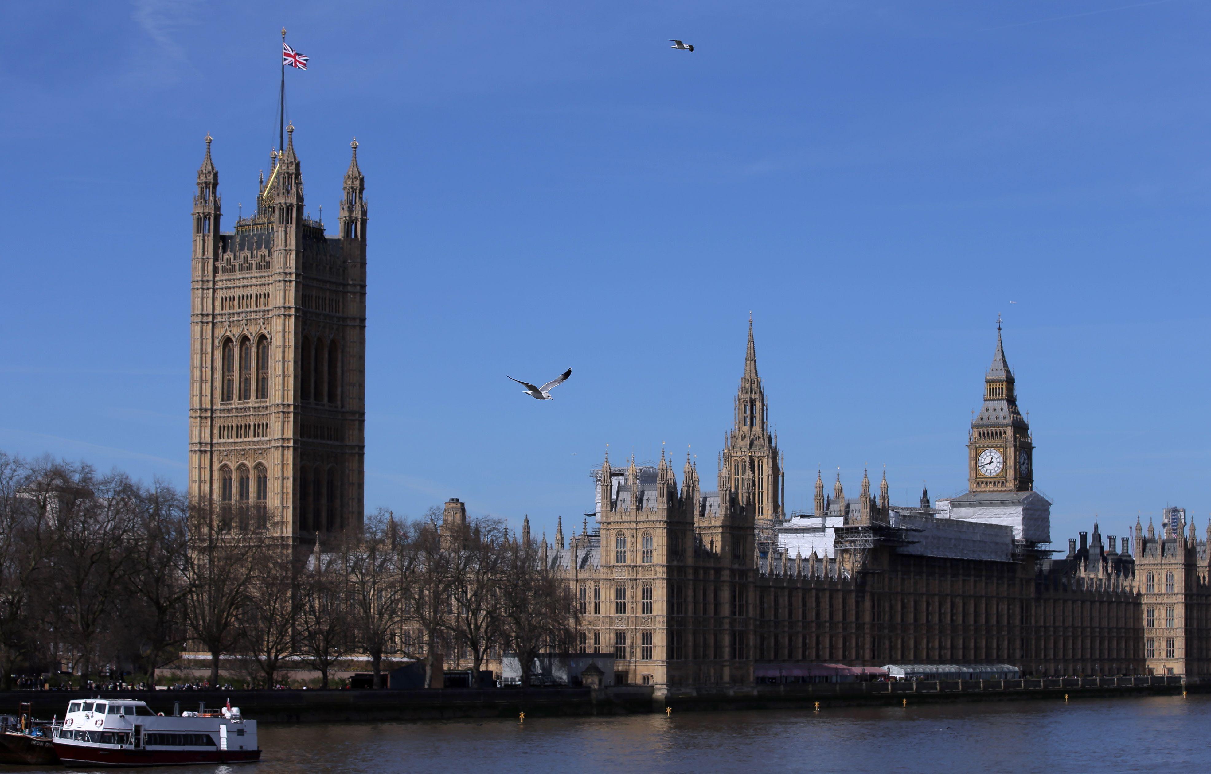 BRITAIN-EU-BREXIT-PARLIAMENT-ECONOMY