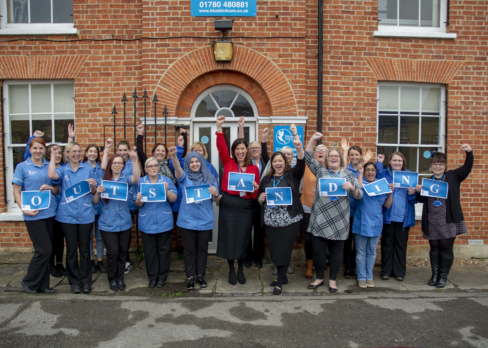 Bluebird Care Peterborough Outstanding