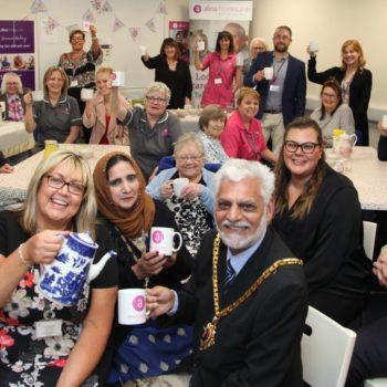 Mayor of Worcester & Alina Homecare Team_June 2019