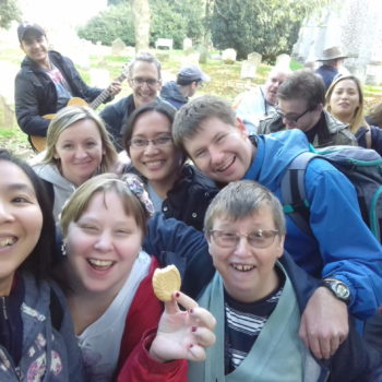 L'Arche Ipswich pilgrimage Oct-17 tea break