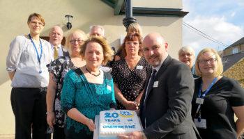 Care South Home Care 20 yrs press