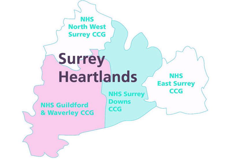 surrey-heartlands-ccg-map