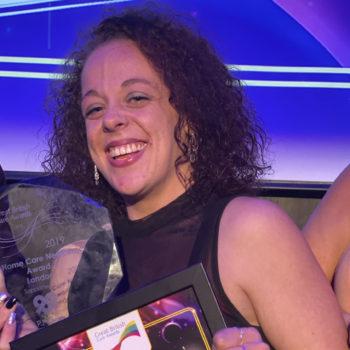 Bluebird Care Croydon award
