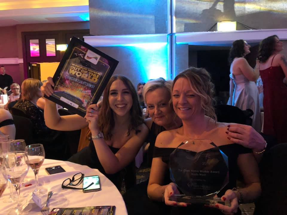 Right at Home South Cheshire award