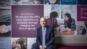 Martin Jones CEO Home Instead Senior Care landscape