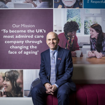 Martin Jones CEO Home Instead Senior Care landscape