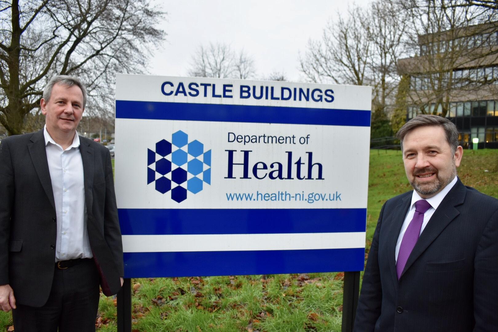 Northern Ireland health minister