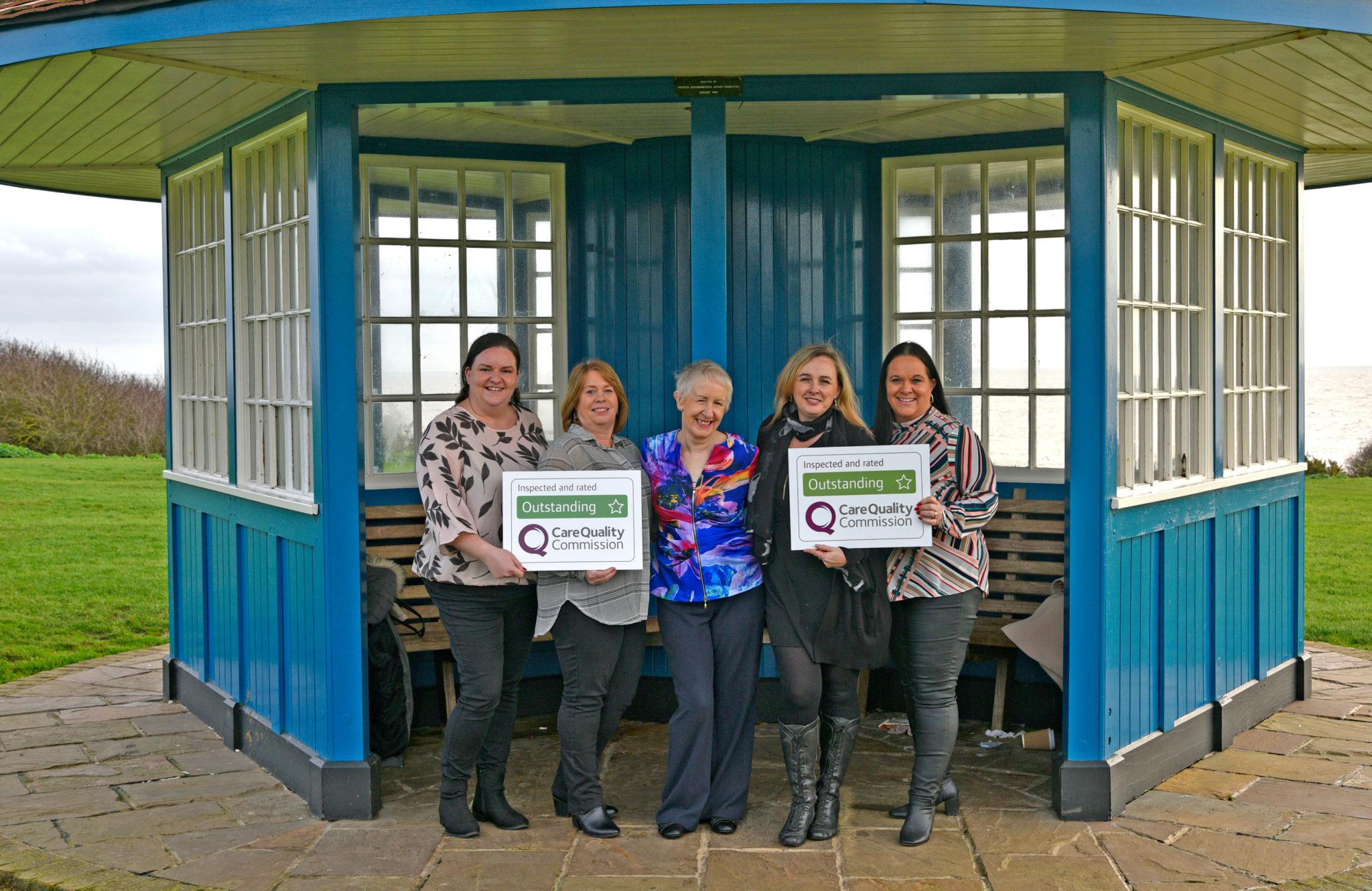 Outstanding Award team photo on Greensward 2 Frinton 2020-3680×2390