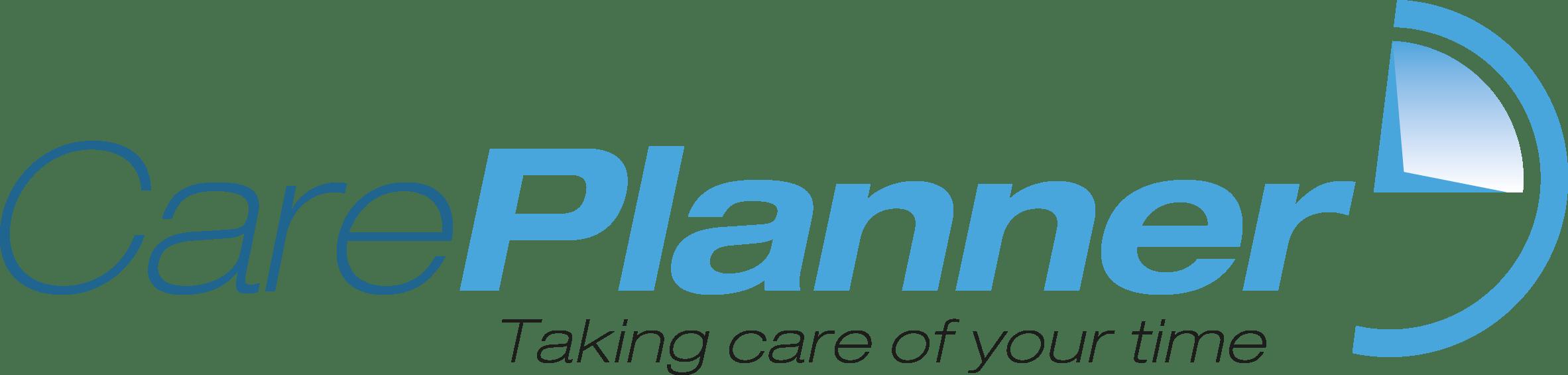 CarePlanner logo with slogan