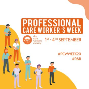Professional care worker's week