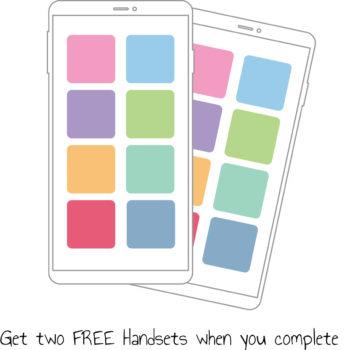 Log my Care_Free handsets