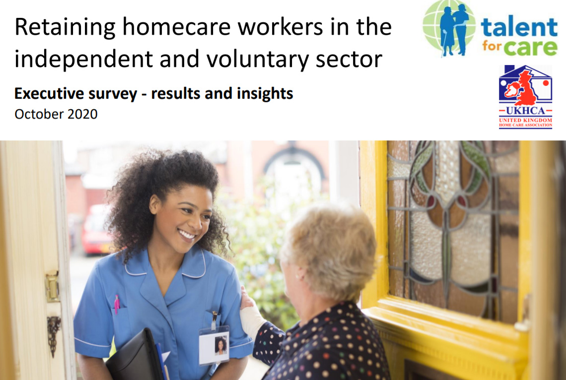 Retaining homecare workers report