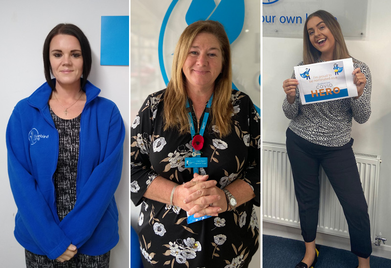 Bluebird Care Covid Heroes