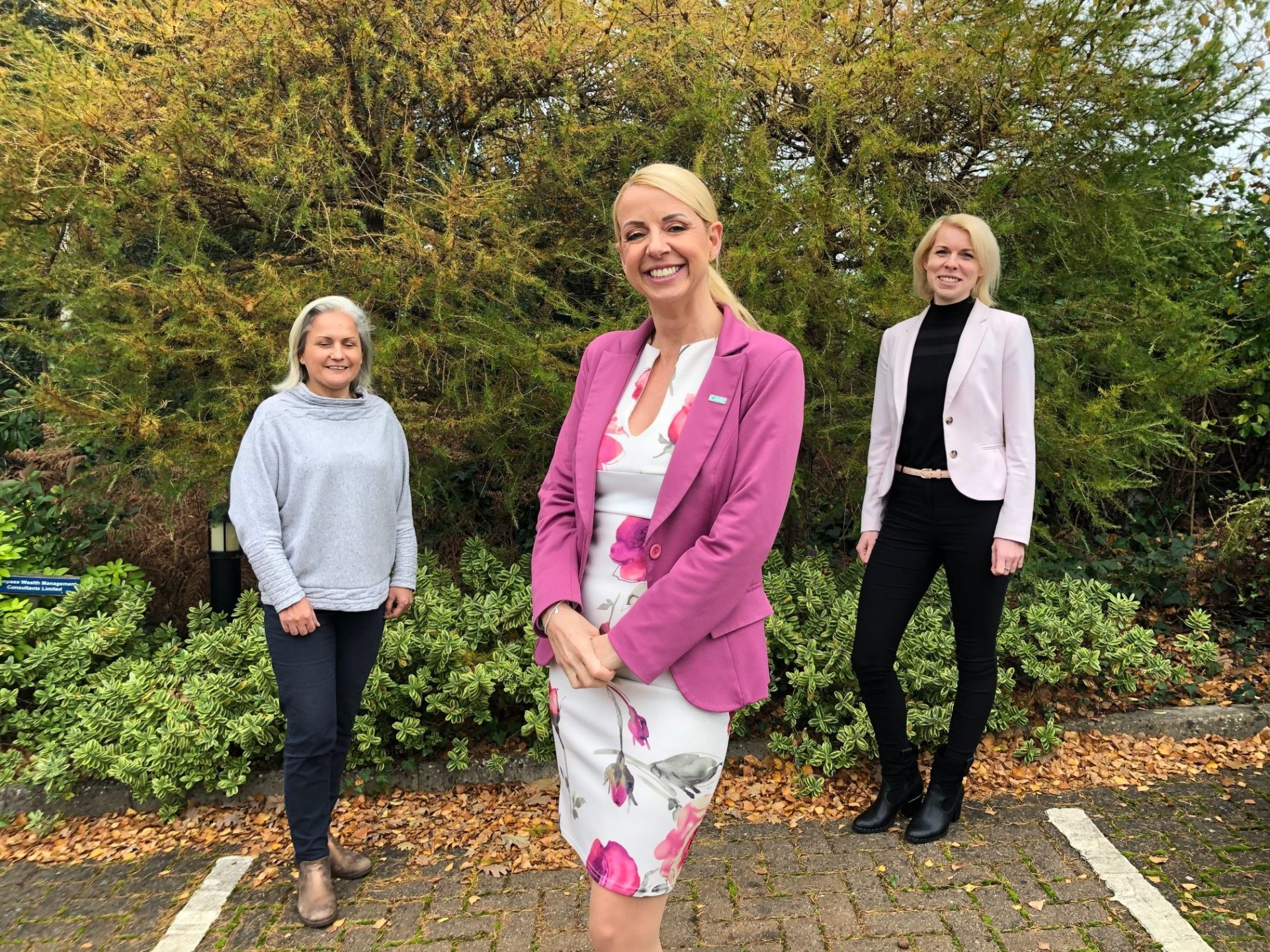 Good Oaks home Care hires three new team members – Beata Roberts, Claire Jackson, Pavlina Jordan. Credit – Good Oaks Home Care