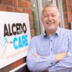 Andy Boardman, MD at Alcedo Care, outside the new office