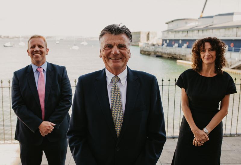 From left Group Matt O'Rourke Chief Financial Officer, Chairman Derek Luckhurst, CEO Raina Summerson cropped