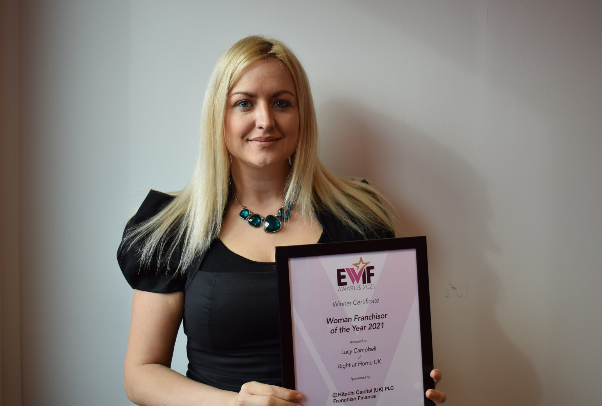 Lucy Campbell EWIF Woman Franchisor of the Year