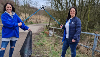Bluebird Care litter pick cropped