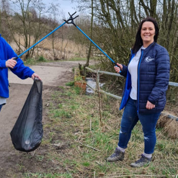 Bluebird Care litter pick cropped