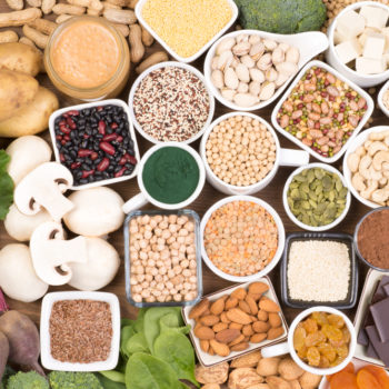Plant based sources of iron