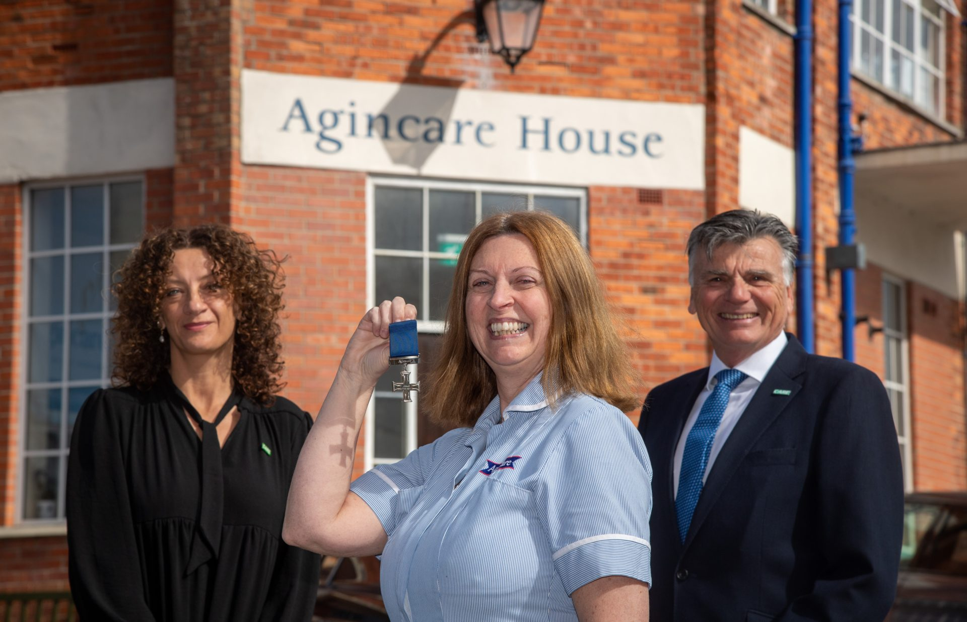 Agincare Covid Medals Picture: Finnbarr Webster