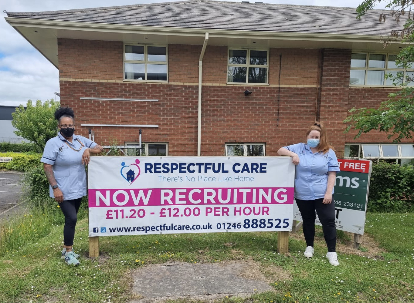 Lucy Fletcher and April Eastwood – Respectful Care Chesterfield