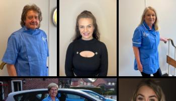 Bluebird Care Collage – 'itstimetocare