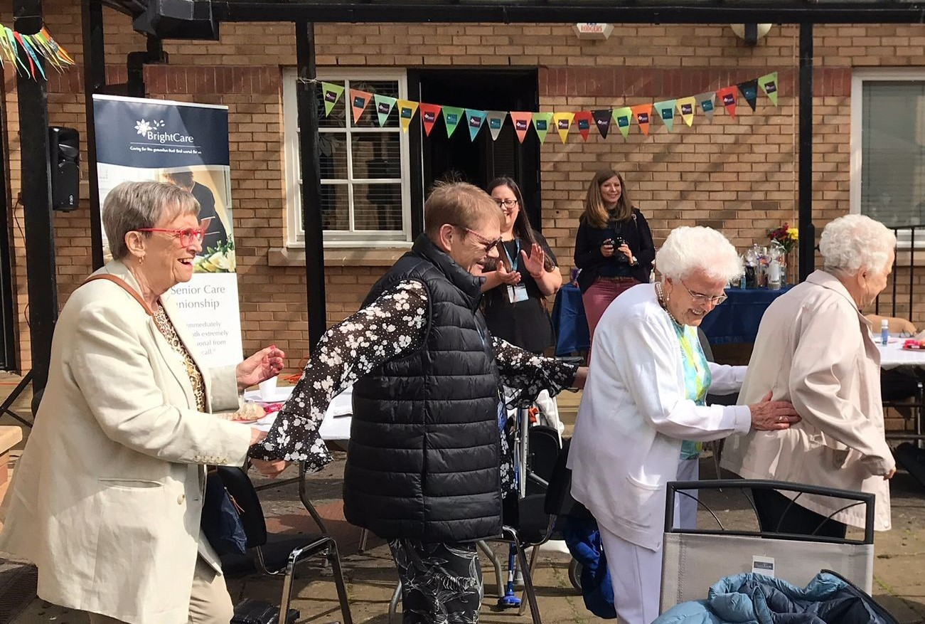 Bright Care Clients Dancing