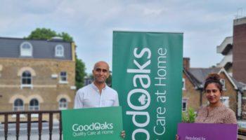 The Good Oaks Home Care Wimbledon and Kingston team